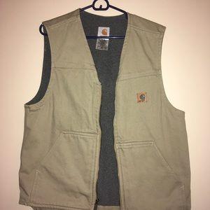 Tan Rugged Carhartt Vest (Mint)